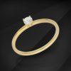 Apollo Diamond solitaire ring