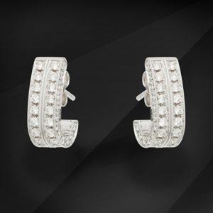Diamant øreringe - MIKU Diamonds