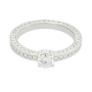Adamas Solitaire ring