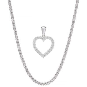 Diamant smykkesæt
